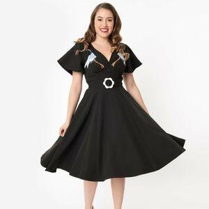 Unique Vintage Flare Dress